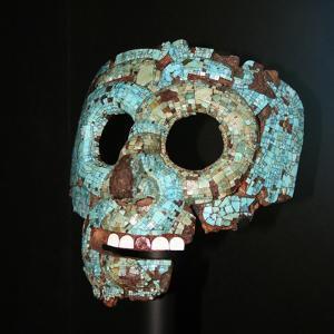 Aztec or Mixtec Mask of Quetzalcoatl