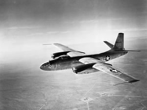 B-45 Bomber in Flight