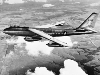 B-47 Boeing Stratojet in Flight
