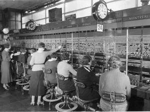 Long Distance Telephone Exchange in London by B. Anthony Stewart