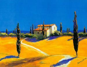 Summer in Provence II by B. Arroldi