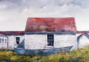 Blue Dory, Monhegan by B. Hendershot
