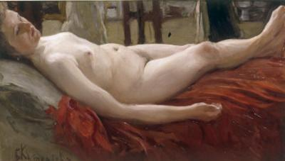 Female Nude (Wife of the artist)