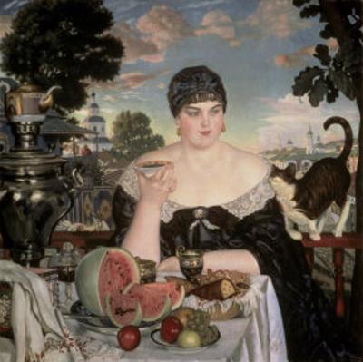 Merchant's Wife Having Tea