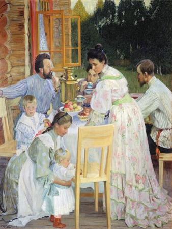 On the Terrace, 1906