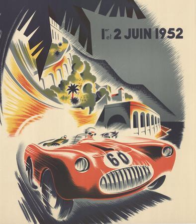 Monaco Grand Prix 1952 by B. Minne