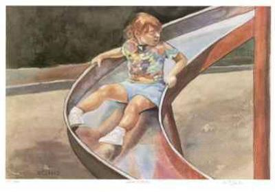 The Girl and the Slide