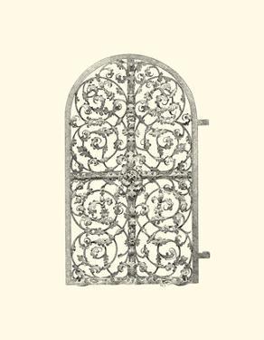 B&W Wrought Iron Gate VII