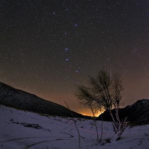 A Bright Meteor Streaks the Sky Near the Big Dipper by Babak Tafreshi