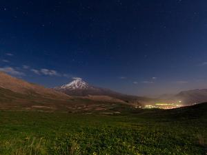 A Spring Night Above the High Slopes of Mount Damavand in the Alborz Mountains by Babak Tafreshi