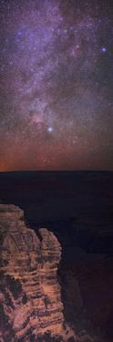 A View of the Night Sky over the Grand Canyon Made with an Astronomically Modified Camera by Babak Tafreshi