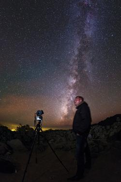 An Amateur Astronomer Photographing the Milky Way and the Starry Night Sky by Babak Tafreshi