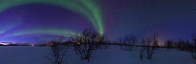 Aurora Borealis, with Jupiter and Venus in a Rare Close Conjunction by Babak Tafreshi