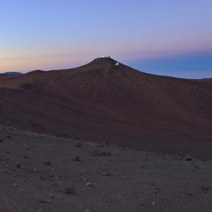 Moments before Sunrise over the Arid Atacama Desert, in Chile by Babak Tafreshi