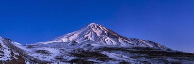 Mount Damavand Volcano at Dusk, the Highest Peak in the Middle East by Babak Tafreshi