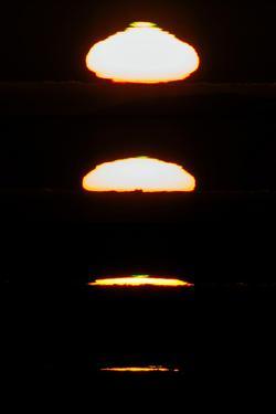 Photo Sequence of the Setting Sun over the Atacama Desert by Babak Tafreshi