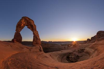 Sunset at the Delicate Arch, an Iconic View of the American Southwest by Babak Tafreshi