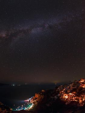 The Big Dipper, Polaris, and the Milky Way from Aquila to Cassiopeia over the Aegean Sea by Babak Tafreshi
