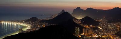 The City Lights of Rio, Seen From the Peak of Sugar Loaf Mountain by Babak Tafreshi