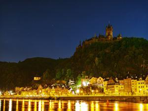 The Imperial Castle of Cochem Sits Above the Town on the Moselle River by Babak Tafreshi