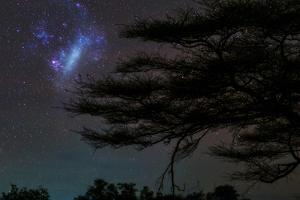 The Large Magellanic Cloud, and Just Left of Center, 30 Doradus, or the Tarantula Nebula by Babak Tafreshi