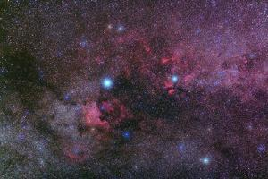 The Milky Way and Nebulae in the Constellation Cygnus by Babak Tafreshi