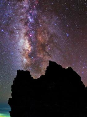 The Milky Way and the Constellation Sagittarius in the Night Sky by Babak Tafreshi