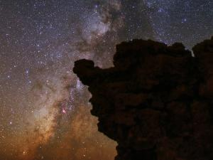 The Milky Way in the Constellations Sagittarius in the Night Sky by Babak Tafreshi