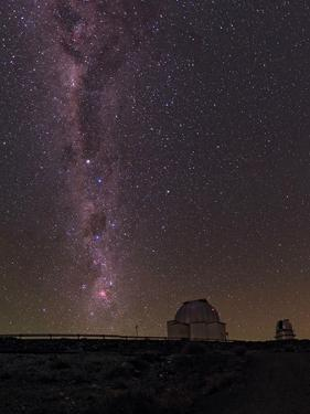 The Milky Way in the Night Sky Above La Silla Observatory by Babak Tafreshi