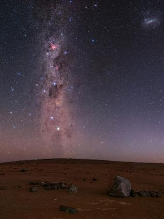 The Milky Way in the Starry Sky of Atacama Desert in Chile by Babak Tafreshi