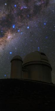 The Milky Way over the European Southern Observatory by Babak Tafreshi