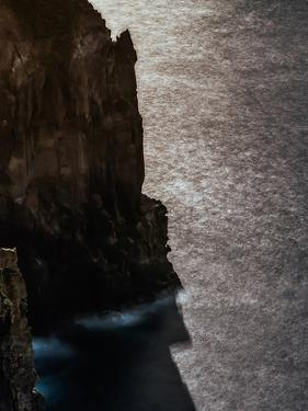 The Moonlight on the Atlantic Ocean at a Stunning Cliff Coast by Babak Tafreshi