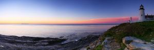 The Morning Twilight and Venus over the Atlantic at the Historic Pemaquid Point Lighthouse by Babak Tafreshi