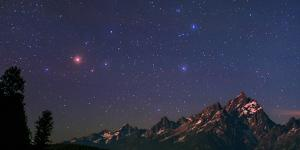 The Night Sky over the Grand Teton National Park in Wyoming, USA. Head of Constellation Scorpius by Babak Tafreshi