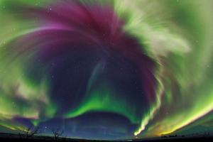The Northrn Lights. Panoramic Projection of a Colorful Strong Aurora Outburst by Babak Tafreshi