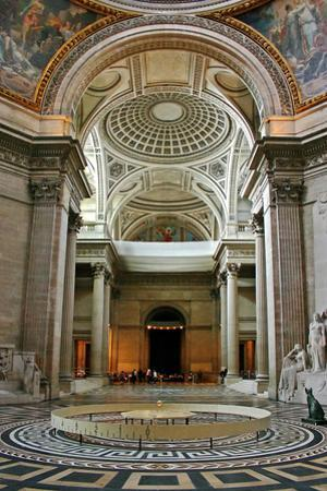 The Original Foucault Pendulum Suspended from the Dome of the Pantheon by Babak Tafreshi