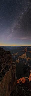 The Setting Moon Illuminates the Milky Way over the Grand Canyon by Babak Tafreshi
