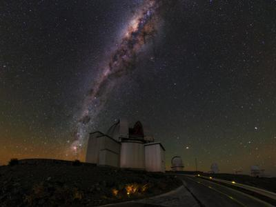The Southern Hemisphere View of the Milky Way over the La Silla Observatory by Babak Tafreshi