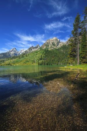 The Teton Range Is Reflected in Jenny Lake by Babak Tafreshi