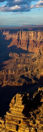 Warm Sunlight on the Grand Canyon at Sunset by Babak Tafreshi