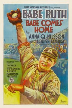 Babe Comes Home, Babe Ruth, 1927