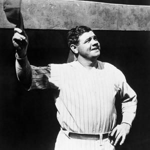 Babe Ruth, American Baseball Player, 1930s