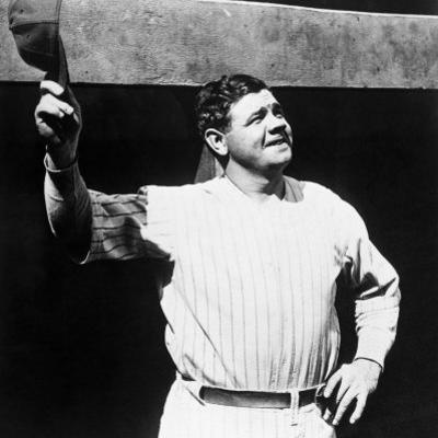 Babe Ruth, American Baseball Player, 1930s