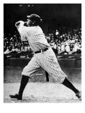 Babe Ruth at Bat, 1920s