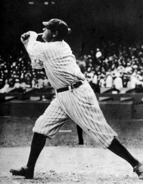 Babe Ruth at Bat, 1920s
