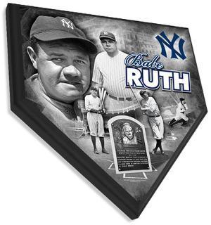 Babe Ruth Home Plate Plaque