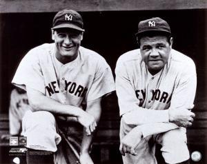 Babe Ruth & Lou Gehrig