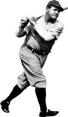 Babe Ruth New York Yankees Lifesize Standup