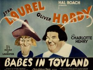 Babes in Toyland, Stan Laurel, Oliver Hardy, 1934