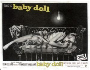 Baby Doll, Carroll Baker, 1956